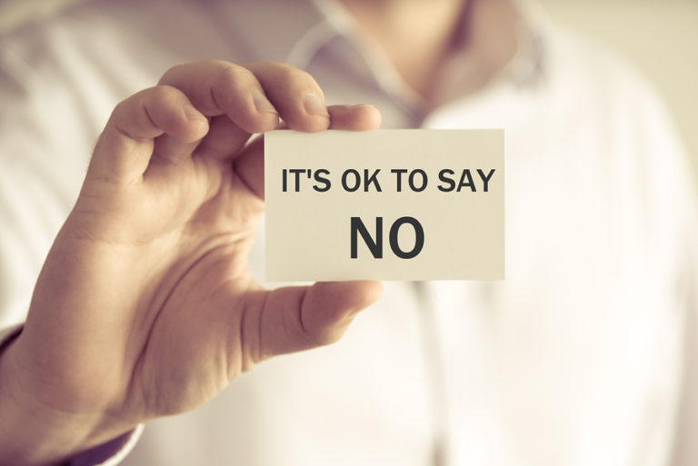 How to say NO to Clients & Set Boundaries in your Business